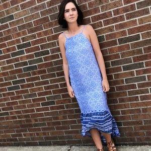 Blue Knox Rose Dress